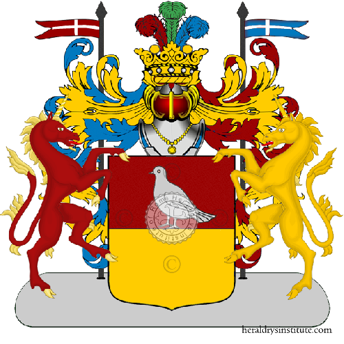Coat of Arms of family Cantafio