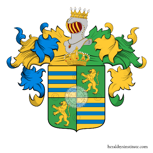 Coat of Arms of family Pradora