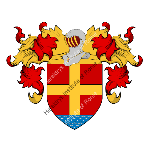 Coat of Arms of family Messine