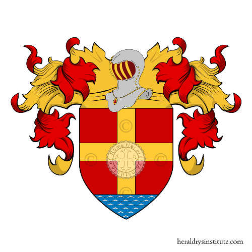 Coat of arms of family Messinas