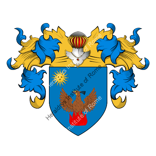 Coat of Arms of family Dosia