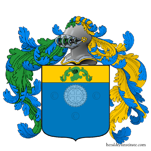 Coat of Arms of family Platano