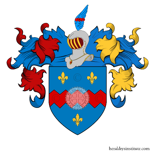 Coat of arms of family Mojana (Lombardia)
