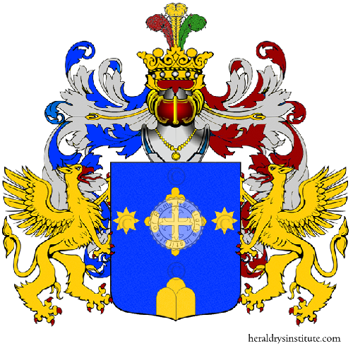 Coat of Arms of family Pinza