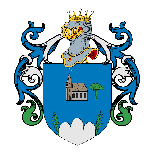 Coat of Arms of family Zanela