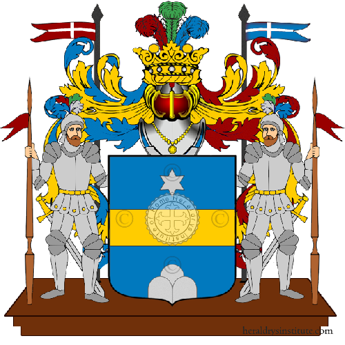 Coat of Arms of family Montani (Umbria)