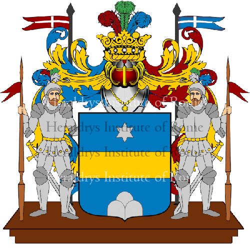 Coat of Arms of family Montaniello