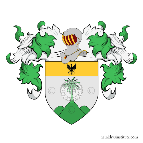 Coat of Arms of family Monticelli (Torino)