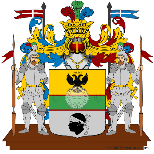 Coat of Arms of family Ruino