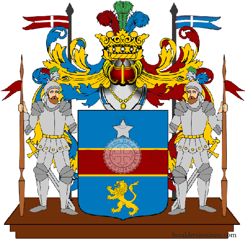 Coat of Arms of family Ugliani
