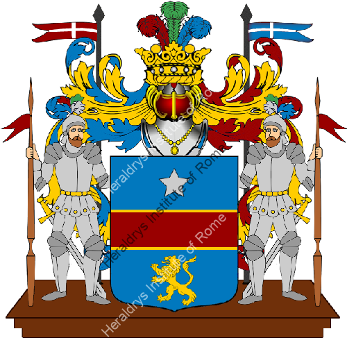 Coat of Arms of family Zugliano
