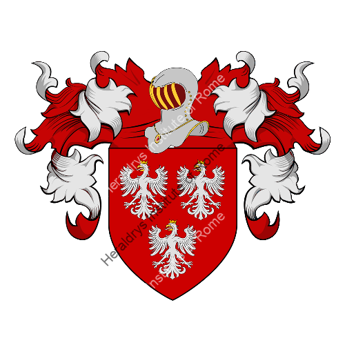 Coat of Arms of family Pinetta