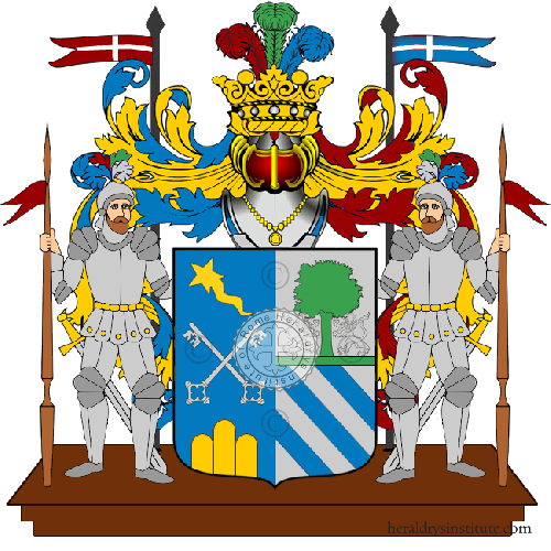 Coat of Arms of family Treccosta