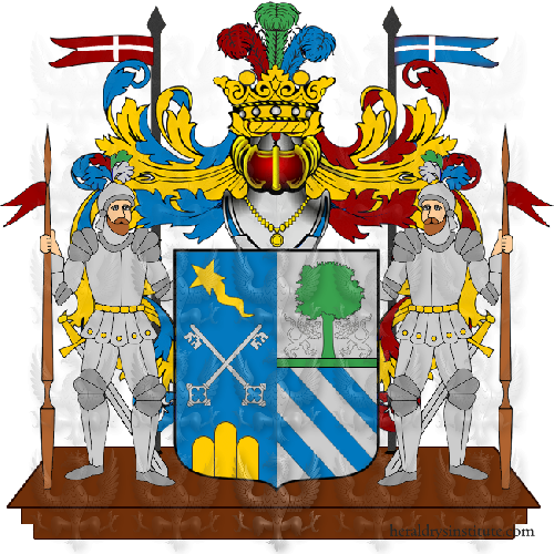 Coat of Arms of family Treccozi