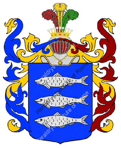 Coat of Arms of family Surfaro