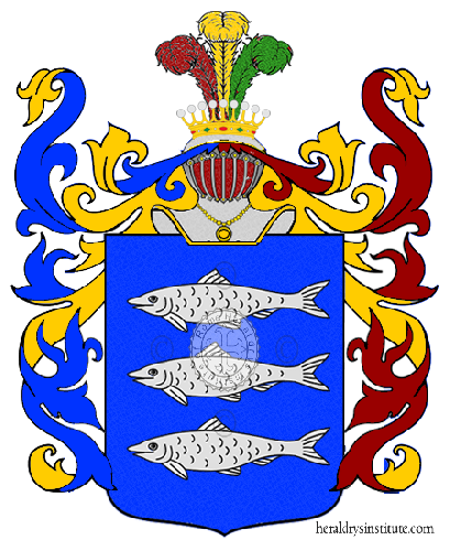 Coat of Arms of family Turiano
