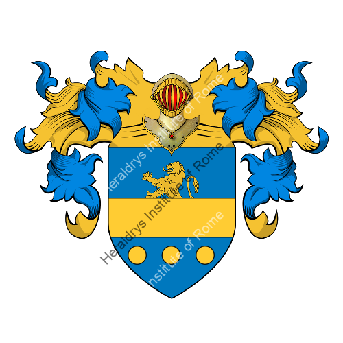 Coat of Arms of family Spagnola