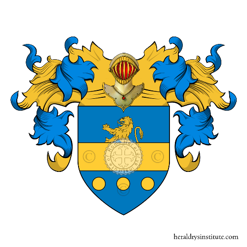 Coat of Arms of family Spagnole