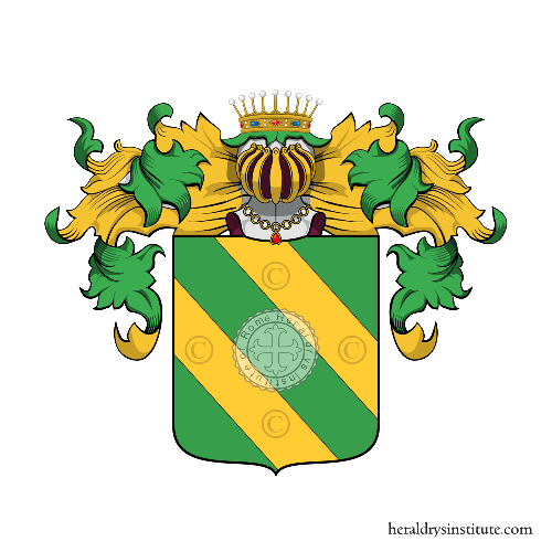 Coat of Arms of family Rogiani