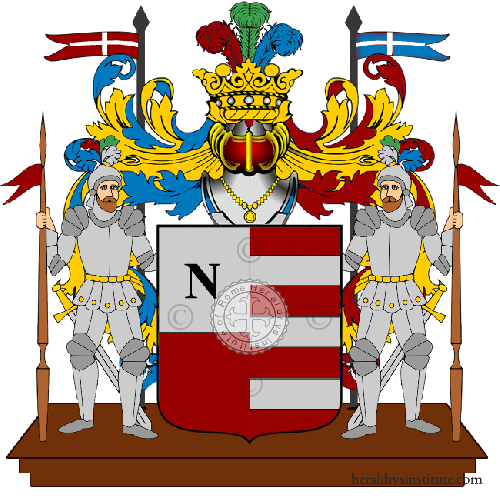 Coat of arms of family Dinicoli