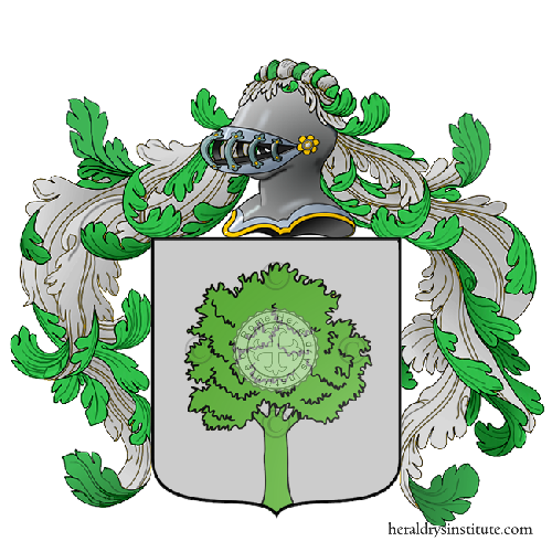 Coat of Arms of family Nocente