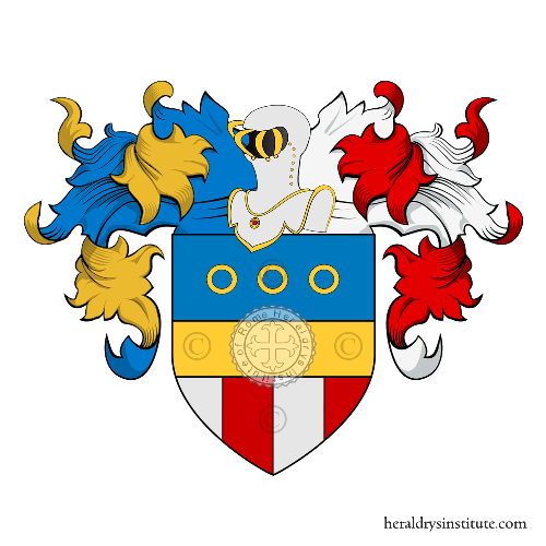Coat of Arms of family Zielli
