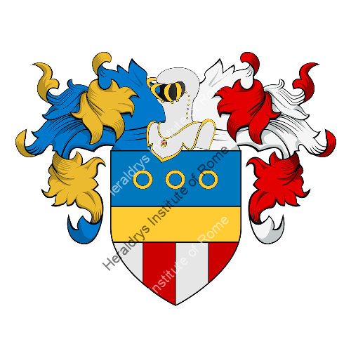 Coat of arms of family Obizzo o Bizzo