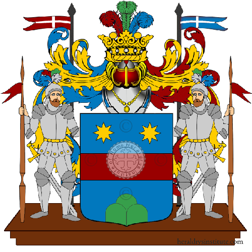 Coat of Arms of family Pazzella