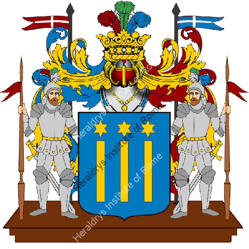 Coat of Arms of family Porsi
