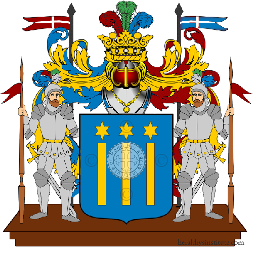 Coat of arms of family Diorsi