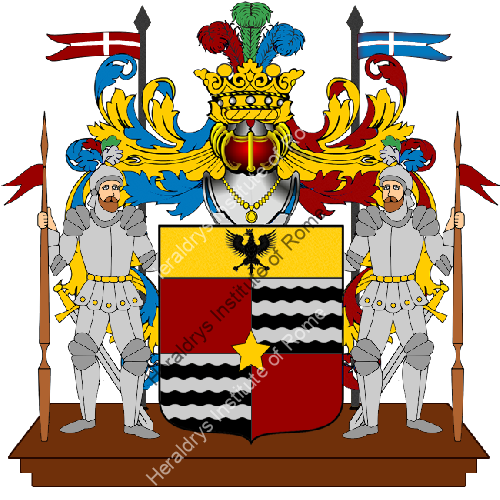 Coat of Arms of family Superchia