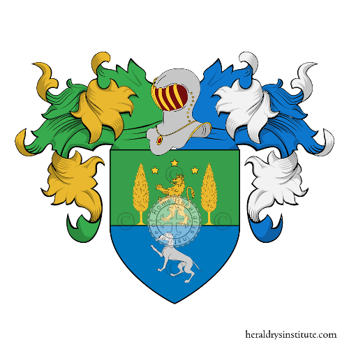 Coat of Arms of family Ortolani