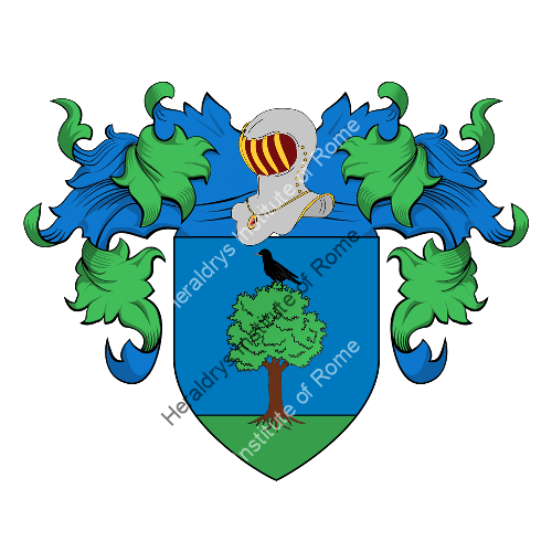 Coat of Arms of family Nosella