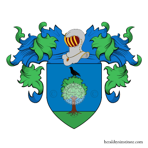 Coat of Arms of family Suscella