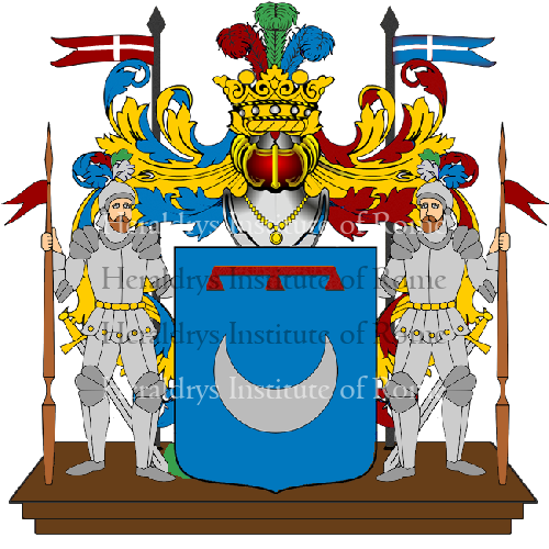 Coat of Arms of family Talana