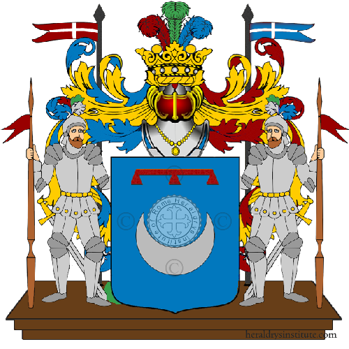 Coat of Arms of family Talania