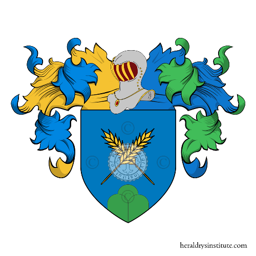 Coat of Arms of family Paine