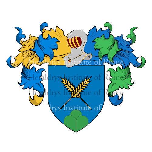 Coat of Arms of family Paino