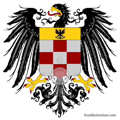 Coat of Arms of family Zapparelli