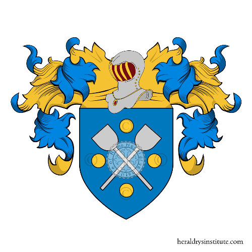 Coat of Arms of family Sacino
