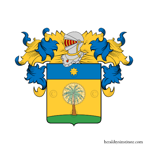 Coat of Arms of family Palmarelli