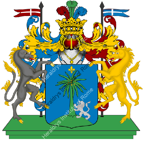 Coat of Arms of family Palmerio