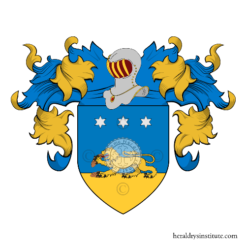 Coat of arms of family Panebianco
