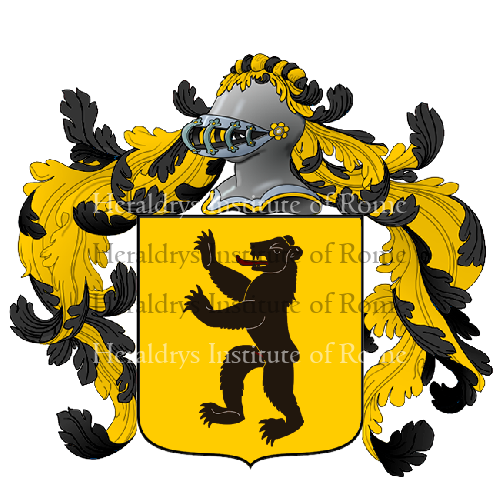 Coat of Arms of family Raolucci