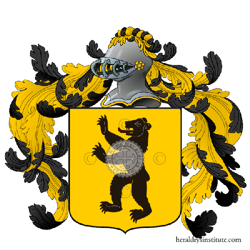 Coat of arms of family Emani