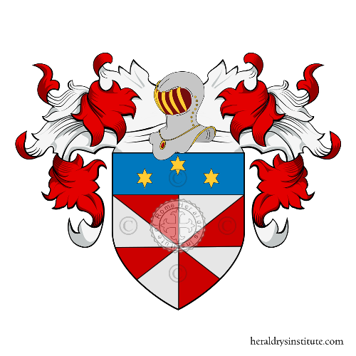 Coat of Arms of family Parentino