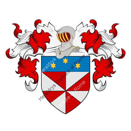 Coat of Arms of family Temporale