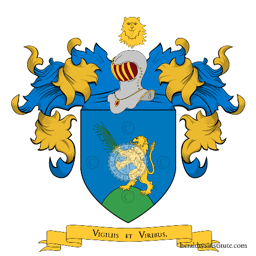 Coat of Arms of family Tarulla