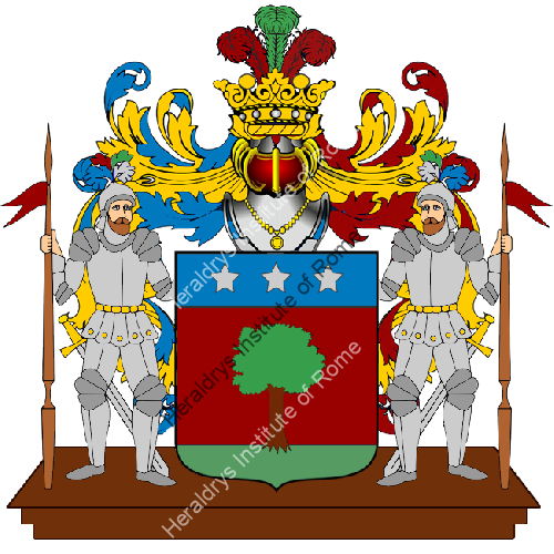 Coat of Arms of family Perezzani