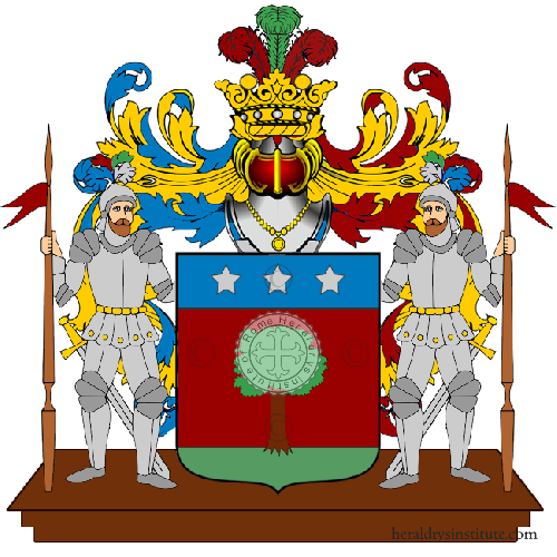 Coat of Arms of family Pissetti